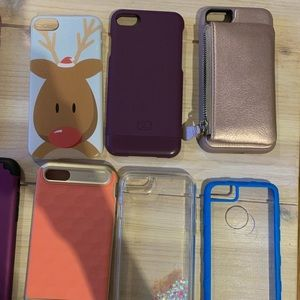 Variety of iPhone 7 cases.